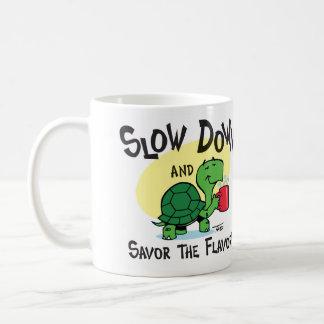 Taza de café de la tortuga