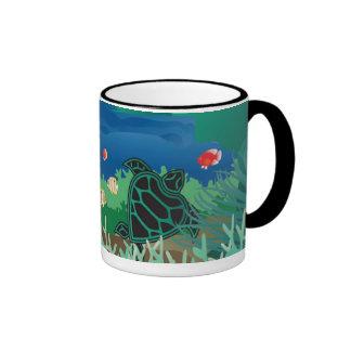 Taza de café de la tortuga de Hawaii