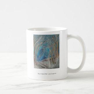 """Taza de café """"de la trayectoria azul de los invier"""