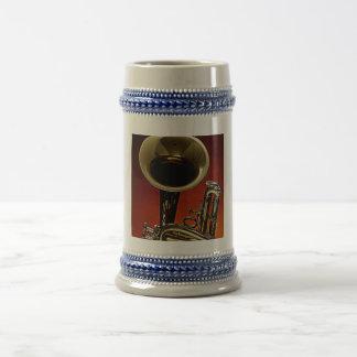 Taza de café de la trompeta o del cucurucho o Stei