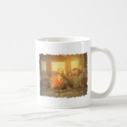 Taza de café de la última cena