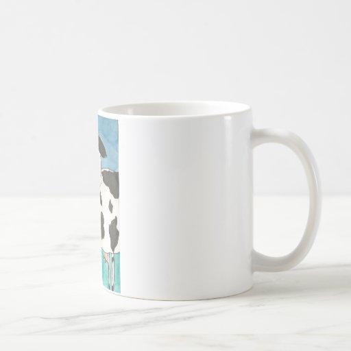 Taza de café de la vaca