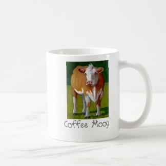 TAZA de CAFÉ de la VACA (café Moog)