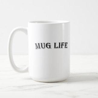 Taza de café de la vida de la taza