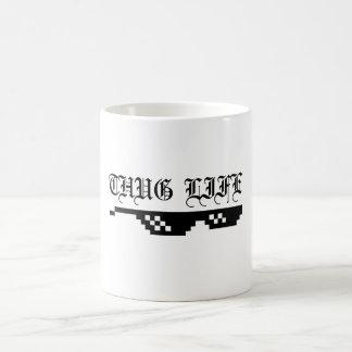 Taza de café de la vida del gamberro