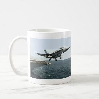 Taza de café de lanzamiento de F-A-18C