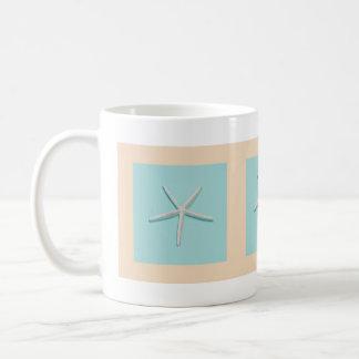 Taza de café de las estrellas de mar