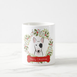 Taza de café de las Felices Navidad de bull