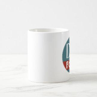 Taza de café de las fuentes de DJB