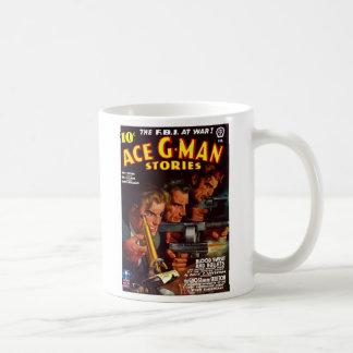 Taza de café de las historias del G-Man del as