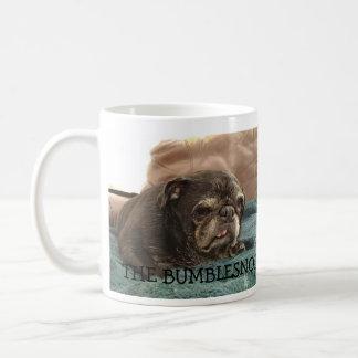 Taza de café de las mañanas de Bumblesnot odio