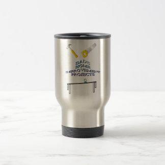 Taza de café de las mejoras para el hogar del papá