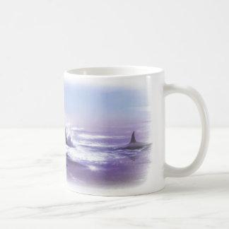 "Taza de café de las ""orcas"""