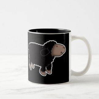 Taza de café de las ovejas negras