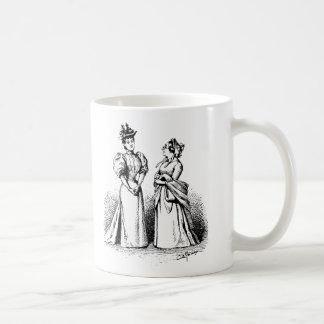 Taza de café de las señoras del Victorian