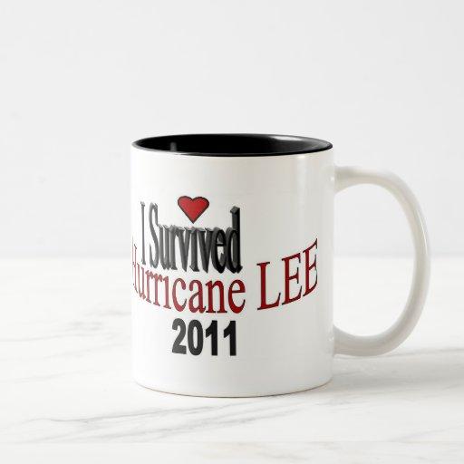 Taza de café de Lee del huracán
