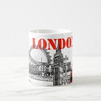 taza de café de Londres