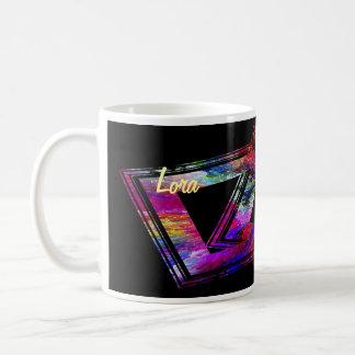 Taza de café de Lora
