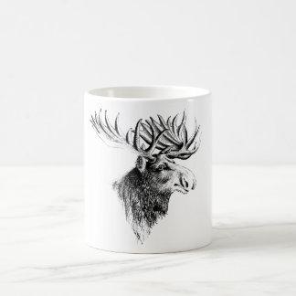 Taza de café de los alces