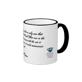 Taza de café de los amantes del gato
