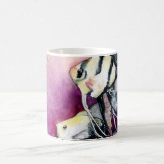 Taza de café de los ángeles