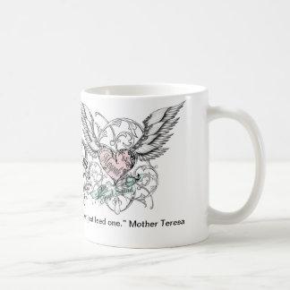 Taza de café de los ángeles de las panteras de Mar