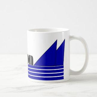 Taza de café de los barcos de Boston