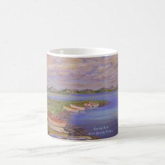 Taza de café de los barcos de Rowing