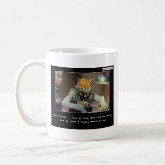 Taza de café de los bebés del espacio exterior de