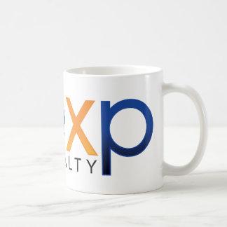 taza de café de los bienes raices del eXp