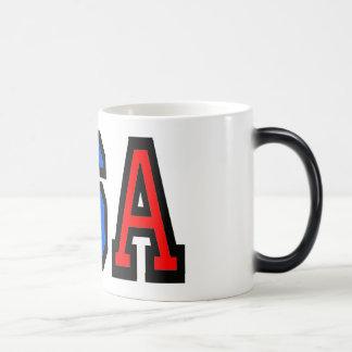 Taza de café de los E.E.U.U.