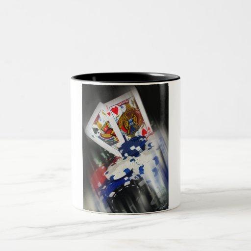 """Taza de café de los """"ganchos cubiertos"""" del SPS"""