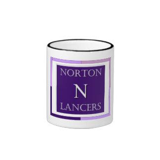 Taza de café de los lanceros de Norton