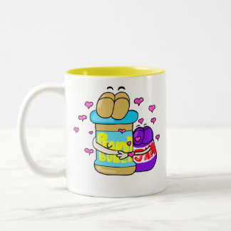 Taza de café de los mejores amigos de Pb&j