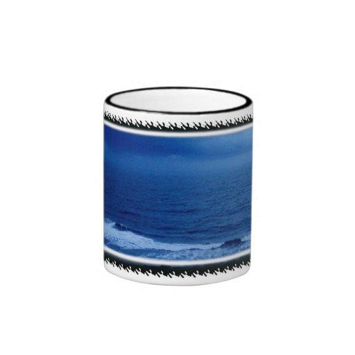 Taza de café de los océanos
