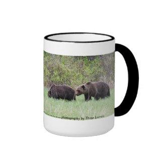 Taza de café de los osos grizzly