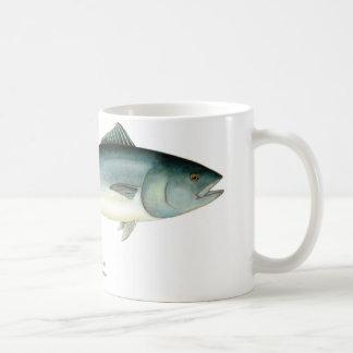 Taza de café de los pescados de atún de Bluefin