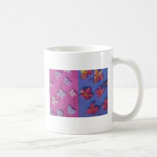 Taza de café de los pétalos del Hydrangea