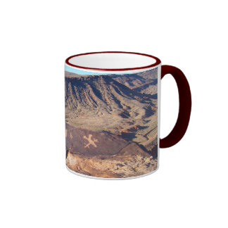 Taza de café de los petroglifos #1 del nativo amer