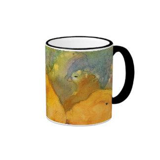 Taza de café de los polluelos del bebé