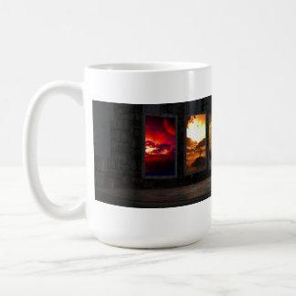 Taza de café de los portales