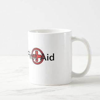 Taza de café de los primeros auxilios