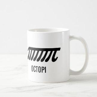 Taza de café de los pulpos