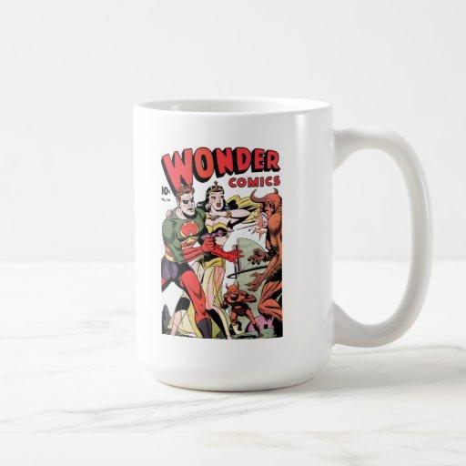Taza de café de los tebeos #10 de la maravilla