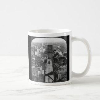 Taza de café de los trabajadores del hierro de New