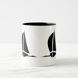 Taza de café de los veleros