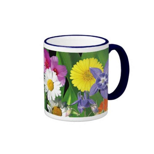 Taza de café de los Wildflowers
