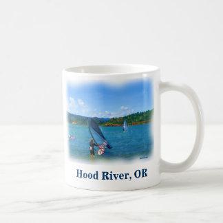 Taza de café de los windsurfers de Hood River, Ore
