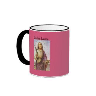 Taza de café de Lucy del santo