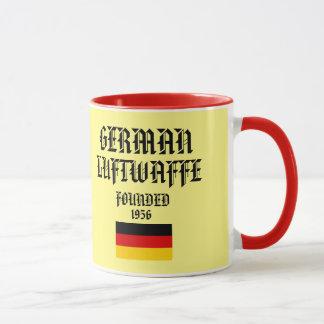 Taza de café de Luftwaffe Roundel del alemán